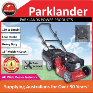 Parklander Wallaby PCM4040L 159 Cc Mulch N Catch | Push Lawn Mower